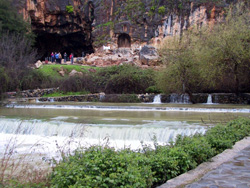 Rock of the gods of Caesarea Philippi